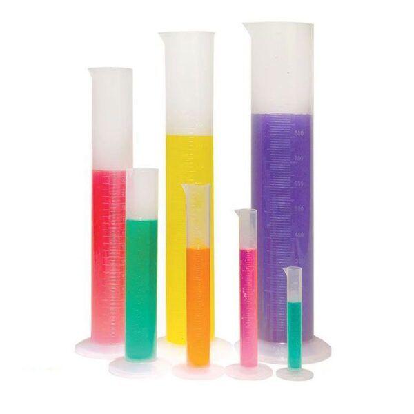 Mezür Plastik Kabartma Taksimatlı 10 ml